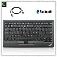 Оригинальный новый для lenovo ThinkPad Bluetooth клавиатура 0B47189 ku1255 kt 1255 Беспроводной Tablet PC ноутбук USB Зарядное устройство Trackpoint