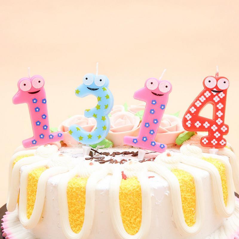 1 шт. новые милые лягушки животные день рождения свечи номер торт Кекс Топпер Вечеринка день рождения торт свеча вечеринка Декор поставка|Товары для украшения тортов|   | АлиЭкспресс