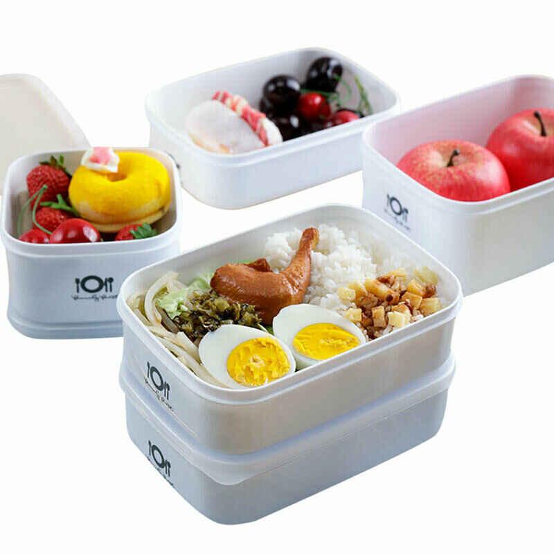 Bambino Adulto Lunch Box Contenitore di Alimento A Prova di Polvere Forno A Microonde Bento Scatole di Immagazzinaggio Scatola di Riscaldamento A Microonde Picnic Studente Contenitore 2020