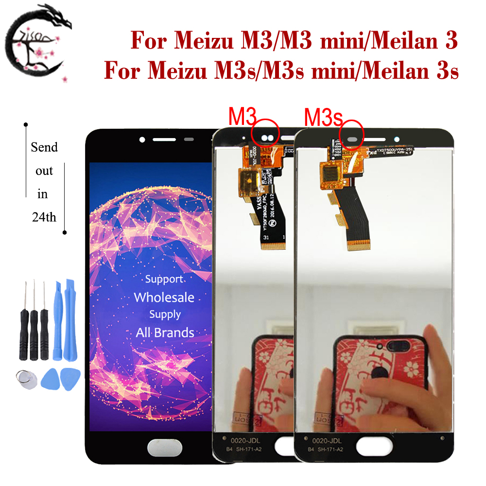 LCD For <font><b>Meizu</b></font> M3s <font><b>M3</b></font> LCD <font><b>Display</b></font> Touch Screen Digitizer Assembly M3s <font><b>mini</b></font> <font><b>Display</b></font> Meilan 3 3s LCD <font><b>Display</b></font> meilan3s Replacement image