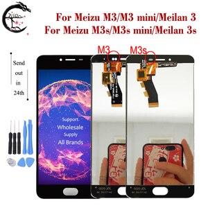 Image 1 - LCD עבור Meizu M3s M3 LCD תצוגת מסך מגע Digitizer הרכבה M3s מיני תצוגת Meilan 3 3s LCD תצוגה meilan3s החלפה