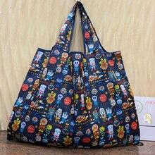 Bag Grocery-Store Handbag Environmental-Protection-Bag Foldable Large-Size Women's