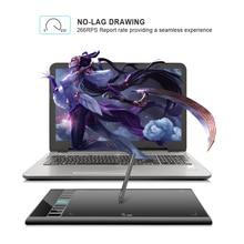 UGEE M708 V3 Grafische Tablet 8192 Niveaus Digitale Tekening Tablet High definition tekentafel schilderen Gereedschap Kinderen Geschenken