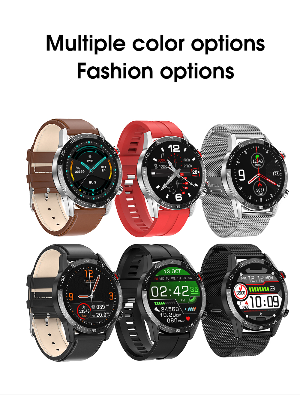 H08407733091e4c2faa8c773d590e0f79S Reloj Inteligente Hombre Smart Watch Men 2020 Android IP68 Smartwatch Answer Call Smart Watch Man For Huawei Android Apple Phone