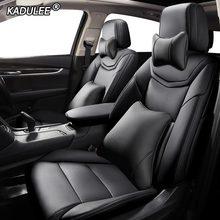 KADULEE Fazer Personalizado de Couro tampa de assento do carro Para ROEWE 550 350 360 750 950 W5 E50 E950 E550 RX5 i6 ei6 RX3 ei5 RX8 i5 assentos de carro