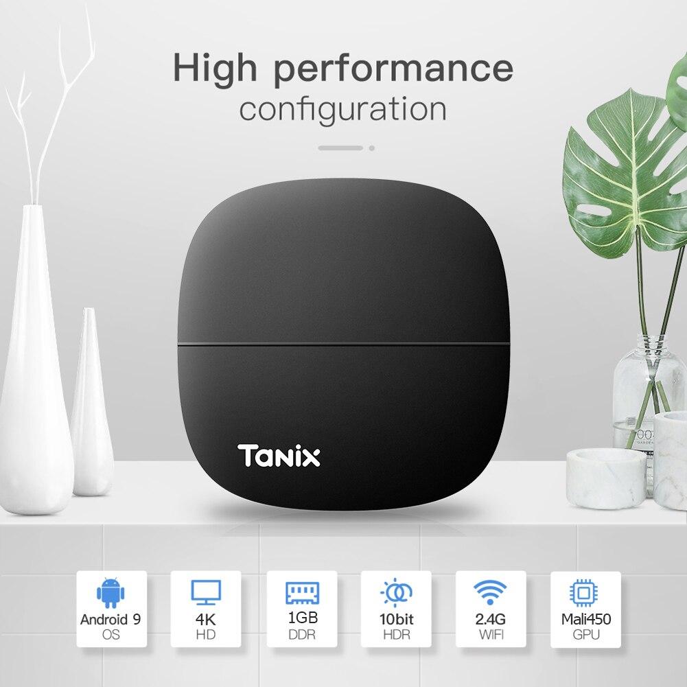 ТВ приставка Tanix H1 Smart Android 9,0 1 ГБ ОЗУ 8 Гб ПЗУ 2,4 ггц WiFi TV HDMI телеприставка 4k медиаплеер        АлиЭкспресс