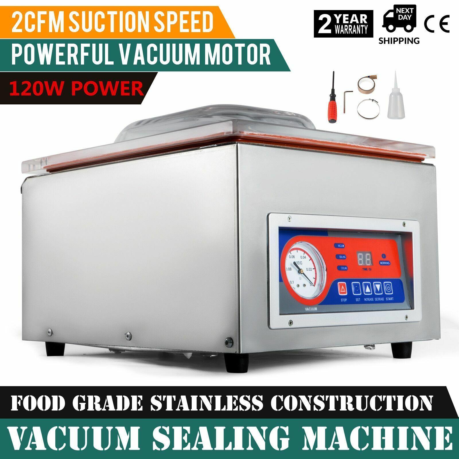 Professional Vacuum Sealer Vacuum Sealer Suction Speed 2CFM