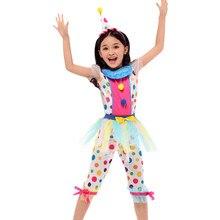 Bluey fantasia costume donna Clown ragazza costume cosplay vestito parrucca naso scarpe materiale poliestere di alta qualità all'ingrosso della fabbrica