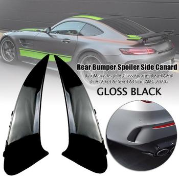 Rear Bumper Spoiler Side Canard For Mercedes CLA Class Sport C118 CLA 200 CLA 220 CLA250 CLA45 for AMG 2020+ Styling Moulding image