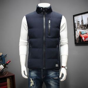 Image 4 - Winter Large Size Hooded Winter Vest For Men Sleeveless Jacket Coats Casual Warm Padded Mens down Waistcoat 6XL 7XL 8XL YT50164