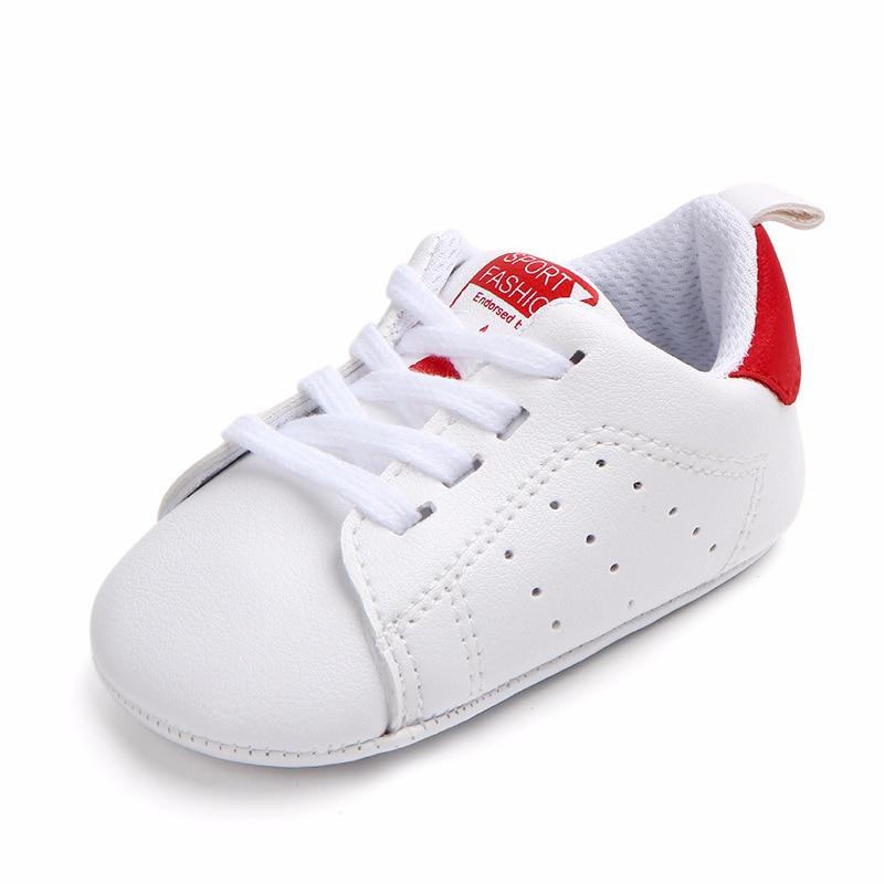 Chaussures bébé Garçon Fille Solide Sneaker Coton Doux Semelle Antidérapante Nouveau-Né Infantile Premiers Marcheurs Bambin décontracté Sport Chaussures de Berceau 34