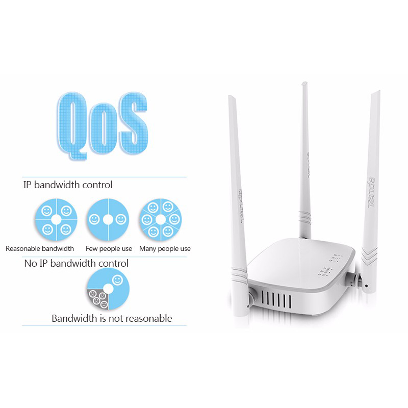 Tenda F3&N318 300Mbps 2.4GHz Wireless WiFi Router Wi-Fi Repeater,Multi Language Firmware,Router/WISP/Repeater/AP Mode,RJ45 Port