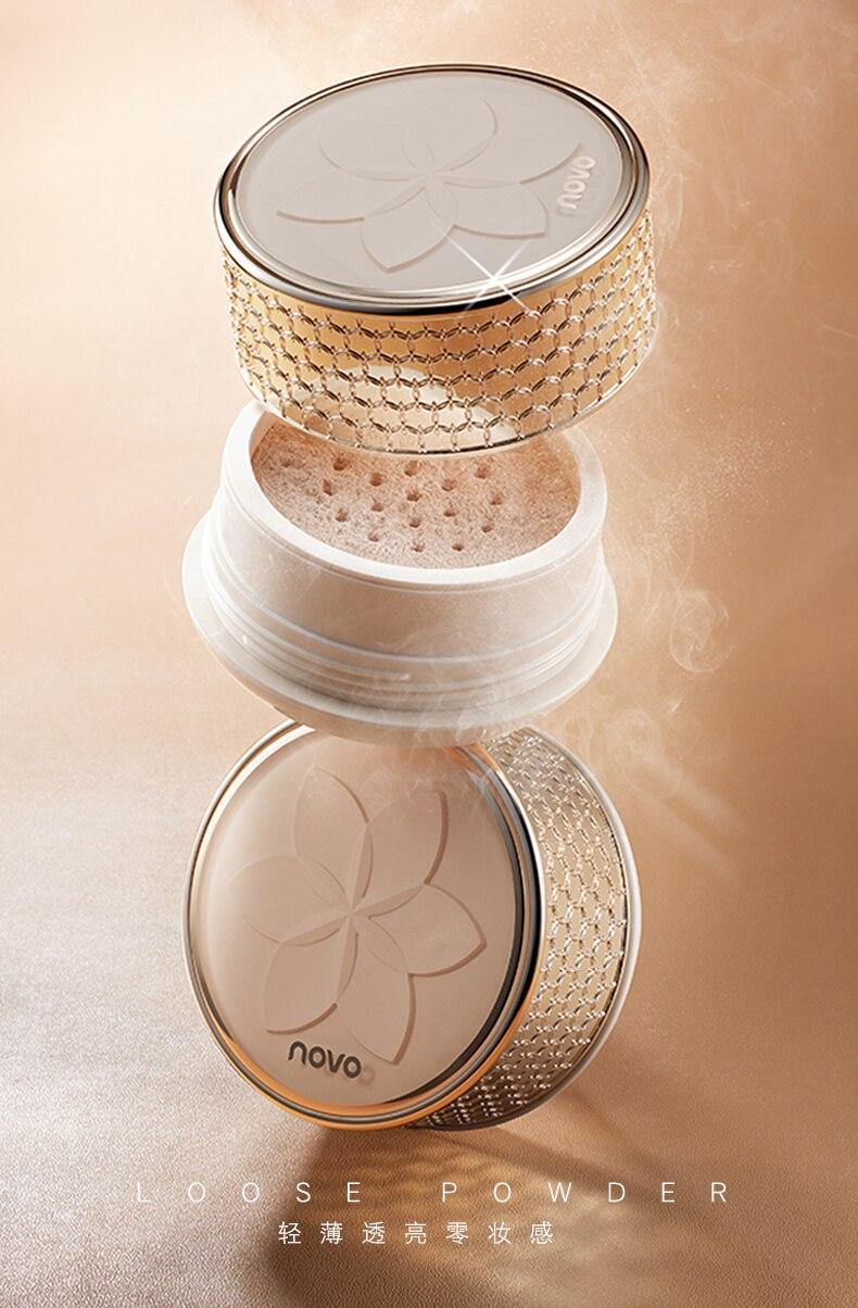 controle impermeável transparente do óleo da composição com sopro cosmético