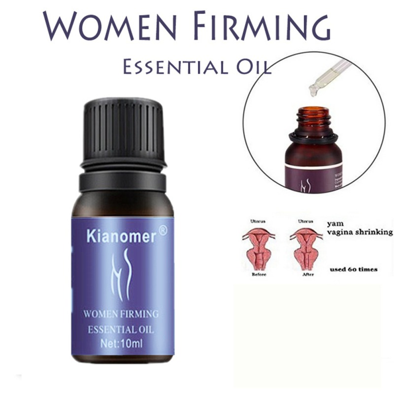 Kianomer Vaginal Firming Essential Oil Sterilization Anti-itching Lighten Melanin Private Care Oil