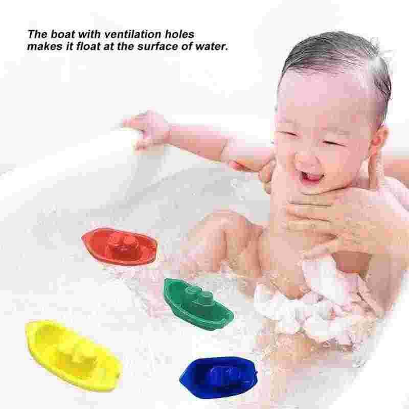 1 ลอยเรือห้องน้ำเด็กเรือของเล่นอ่างอาบน้ำว่ายน้ำเล่นสนุกการศึกษาเรือของเล่นเด็กทารก