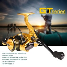 Fishing Spinning Reel GT-5000 LEO Saltwater Stationary Accessories