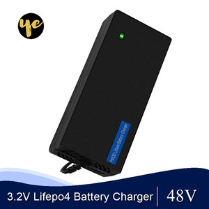 Image 1 - 48V 2A LiFePO4 battery Charger output 58.4V 2A 100 240VAC DC Port Used for 48V 10AH 12AH 15AH Electric bike battery LFP battery