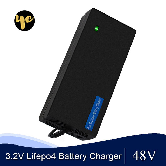 48V 2A LiFePO4 battery Charger output 58.4V 2A 100 240VAC DC Port Used for 48V 10AH 12AH 15AH Electric bike battery LFP battery
