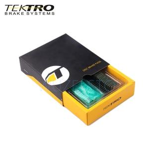 Image 3 - Tektro E10.11 mtbブレーキパッド山道折りたたみ自転車用ディスクブレーキパッドシマノMT200/M355//M395/m415/M285/M286/M280