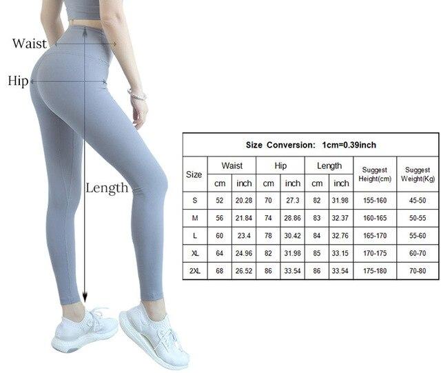 Ghette di Yoga Push Up Lulu Pantaloni di Yoga Leggings di Sport Delle Donne di Fitness Calzamaglie con Tasca Femme di Alta Vita Legins Joga Dropshipping 6
