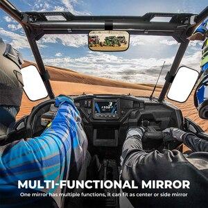 """Image 5 - KEMiMOTO dla Can Am Commander 1000 1.5 """"1.75"""" 2 """"UTV lusterka boczne lusterko środkowe szerokie lusterko wsteczne Off Road dla Polaris RZR"""