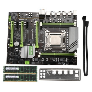 X79 Turbo placa base LGA2011 ATX Combos E5 2620 CPU 2 uds X 8GB = 16GB DDR3 RAM 1600Mhz PC3 12800R PCI-E NVME M.2 SSD