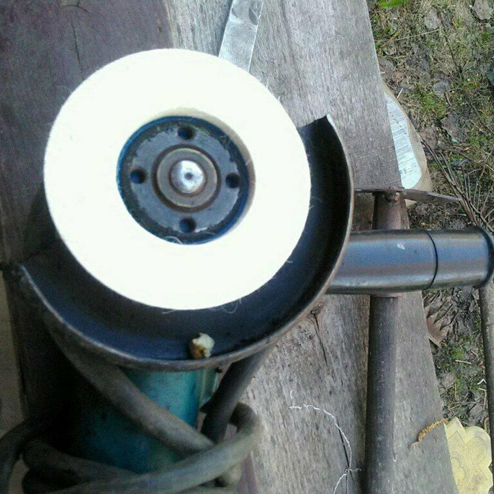 Inch Wool Polishing Pads Buffing Angle Grinder Wheel Felt 100mm Polishing Disc Pad Set Useful Abrasive Tools