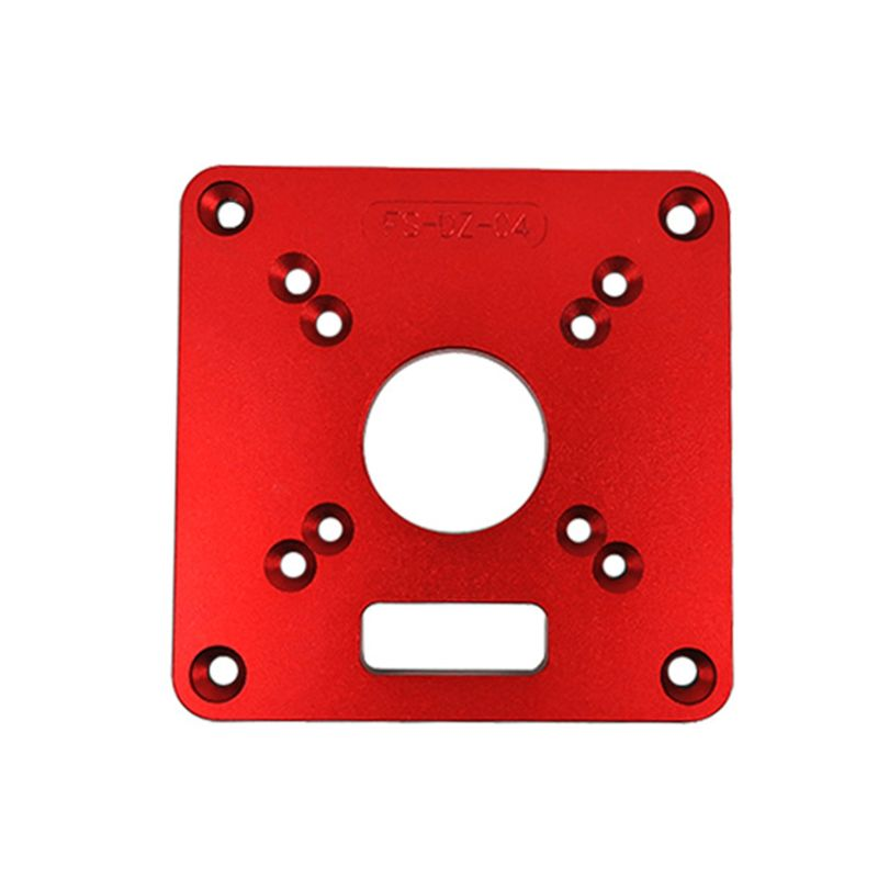 Universal RT0700C Aluminium Router Table Insert Plate Woodworking Benches Wood Router Trimmer Models Engraving Machine