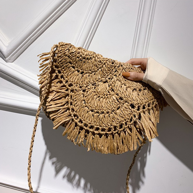 Moda senhoras tecido cesta de compras multi-função
