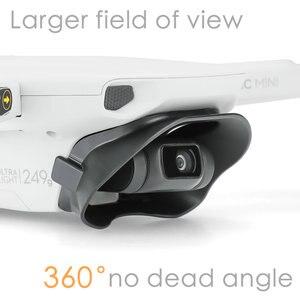 Image 1 - Lens Hood parlama önleyici Gimbal Lens kapağı güneşlik koruyucu kapak yok ölü açı DJI Mavic Mini aksesuarları