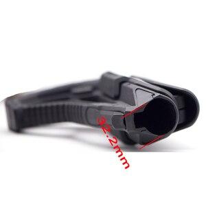 Image 3 - Tactical Nylon regulowany rozszerzony zapas dla wiatrówki CS Sport Paintball Airsoft Tactical BD556 Gel Blaster odbiornik skrzynia biegów