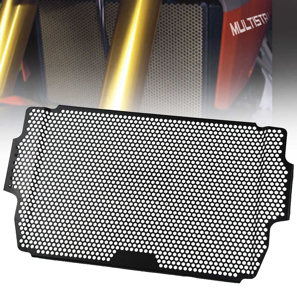 Fittings Aluminum Front Radiator Grille Guard Cover for Ducati Multistrada 950 MTS950 MTS 2017 2018 Oil Cooler Guard Protector