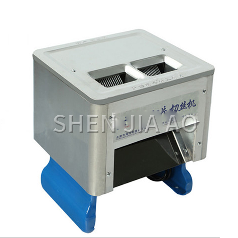Stainless Steel Electric Meat Slicer Commercial Food Slicer Desktop Meat Slicing Machine Multi-function Meat Cutter