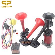 Universal Car Air Horn Compressor Auto Siren Loud Speaker 12V Truck Vehicle for Toyota RAV4 Corolla Camry Vios REIZ