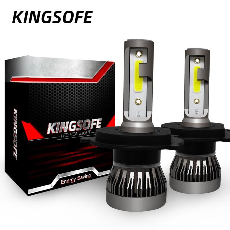 Мини H1 H7 светодиодный лампы для фар HB2 Hi Lo светодиодный Автомобильные фары H4 светодиодный 9012 H11 HB3 9005 HB4 9006 6000K 90W 12V 24V 12000LM фары