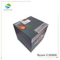 Новый четырехъядерный процессор AMD Ryzen 3 2200G R3 2200G 3,5 GHz с четырехъядерным процессором YD2200C5M4MFB разъем AM4 с вентилятором кулера