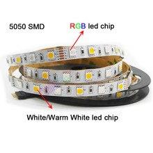 DC12V 24V 5m/lot 60leds/M RGBW RGBWW RGB CCT LED Strip light,RGB +( White/Warm White)  SMD 5050 Flexible led strip light 5m rgbw rgbww rgb cct led strip light dc12v 24v rgb white warm white smd 5050 flexible led lamp tape
