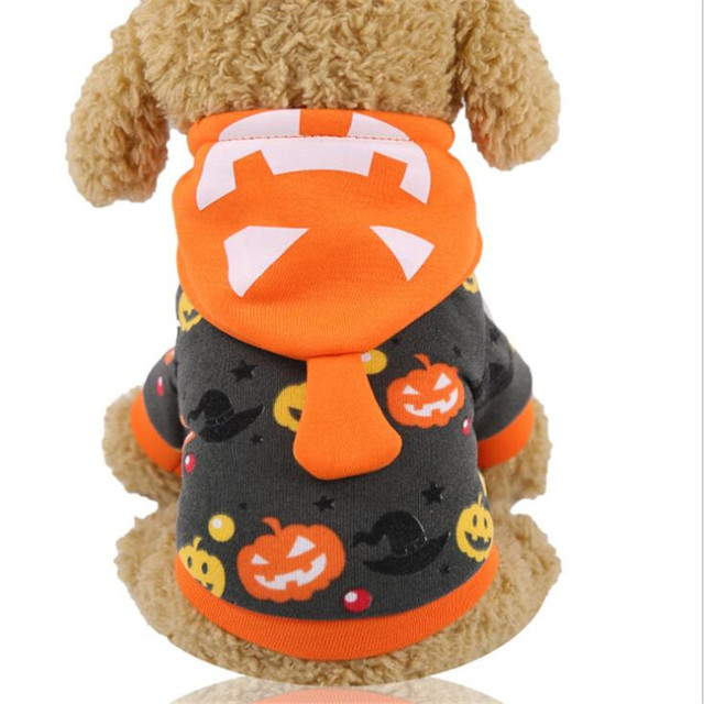 Pet Dog Cat Costumes Spider Skull Pumpkin Cosplay Clothes