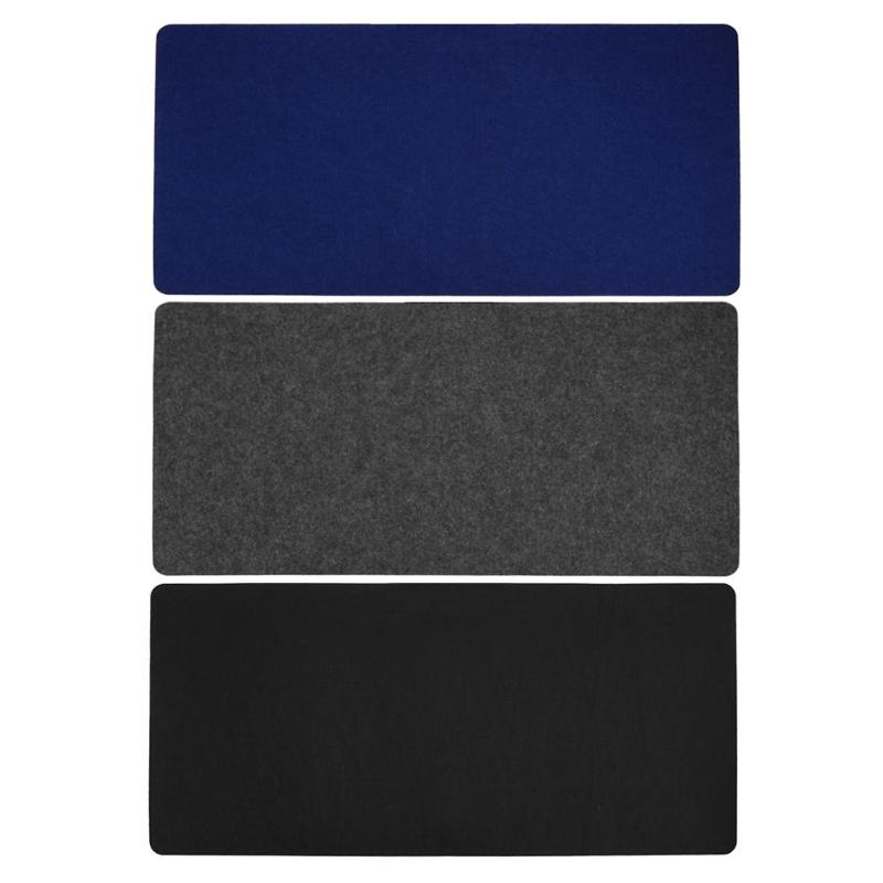 Office Computer Desk Mat Modern Table Mouse Pad Wool Felt Laptop Desk Mat
