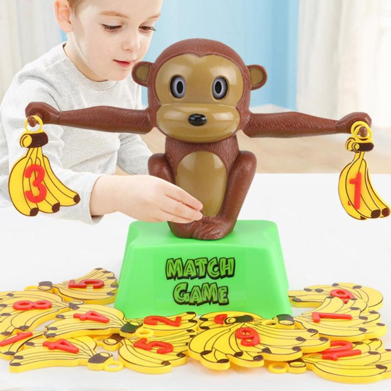 Children Baby Learning Educational Monkey Balance Toys Interest Arithmetic Aids Lovely Modelling And Interesting Enough