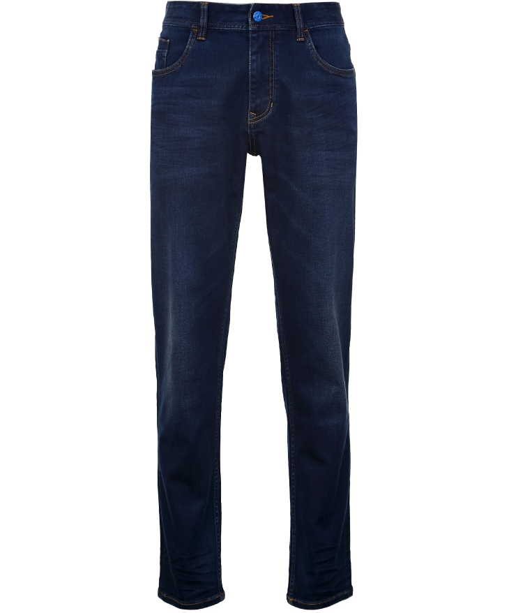 Casual Slim Fit Stretch Cotton Jeans