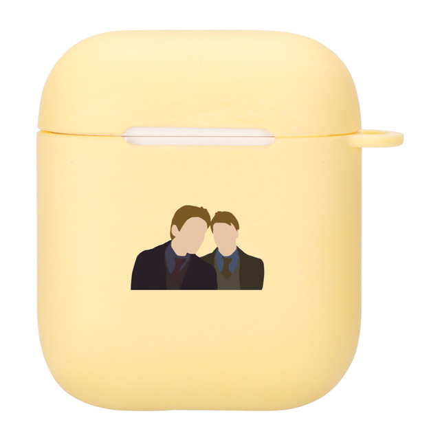 Draco Malfoy Airpod Case Weasley Twins Draco Malfoy Case For Airpods 2 1 Case Wireless Earphone Accessories Cover Luxury Silicone Funda