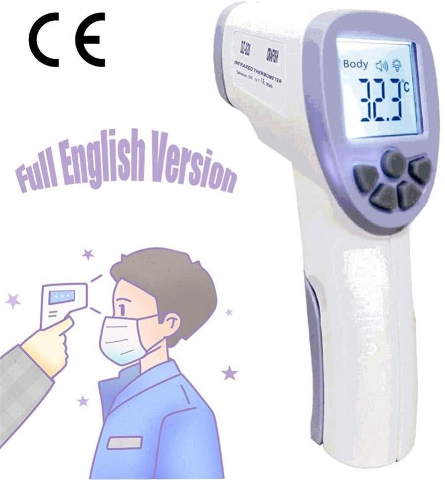 Non-contact Body Thermometer Forehead Digital Infrared Thermometer Portable Non-contact Termometro Baby/Adult Temperature