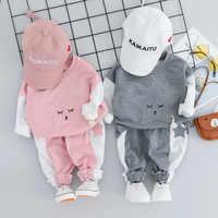 Одежда для новорожденных, 2019 зимняя одежда для маленьких мальчиков, комплект одежды, комплекты одежды для маленьких девочек, одежда для мла...