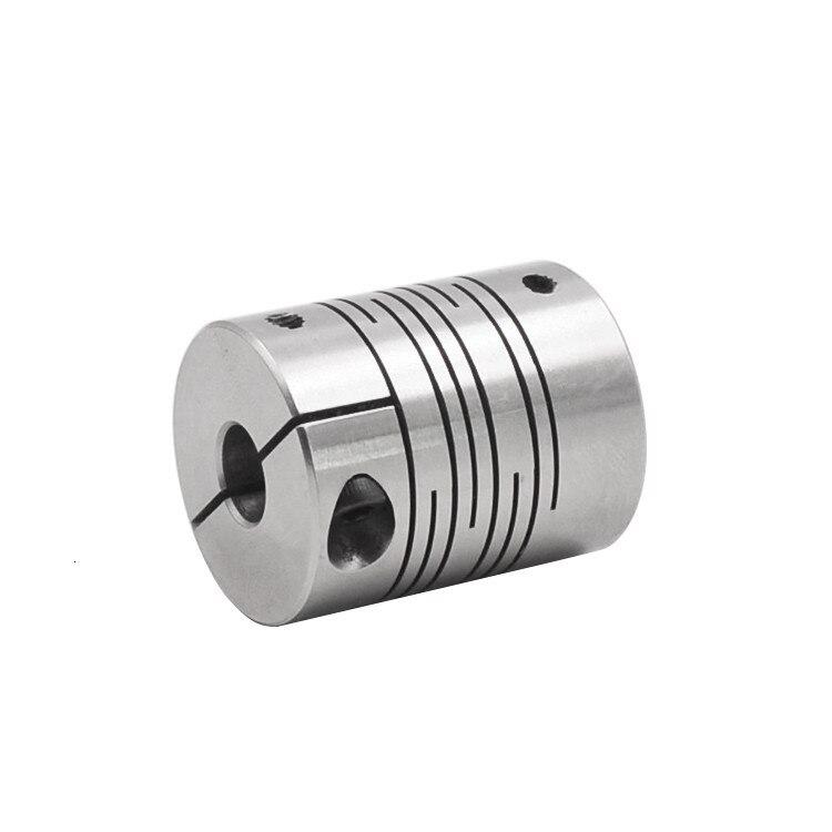 Шариковый винтовой соединитель 304 из нержавеющей стали параллельные линии зажим D20mm L25mm гибкий зажим сцепление шагового двигателя