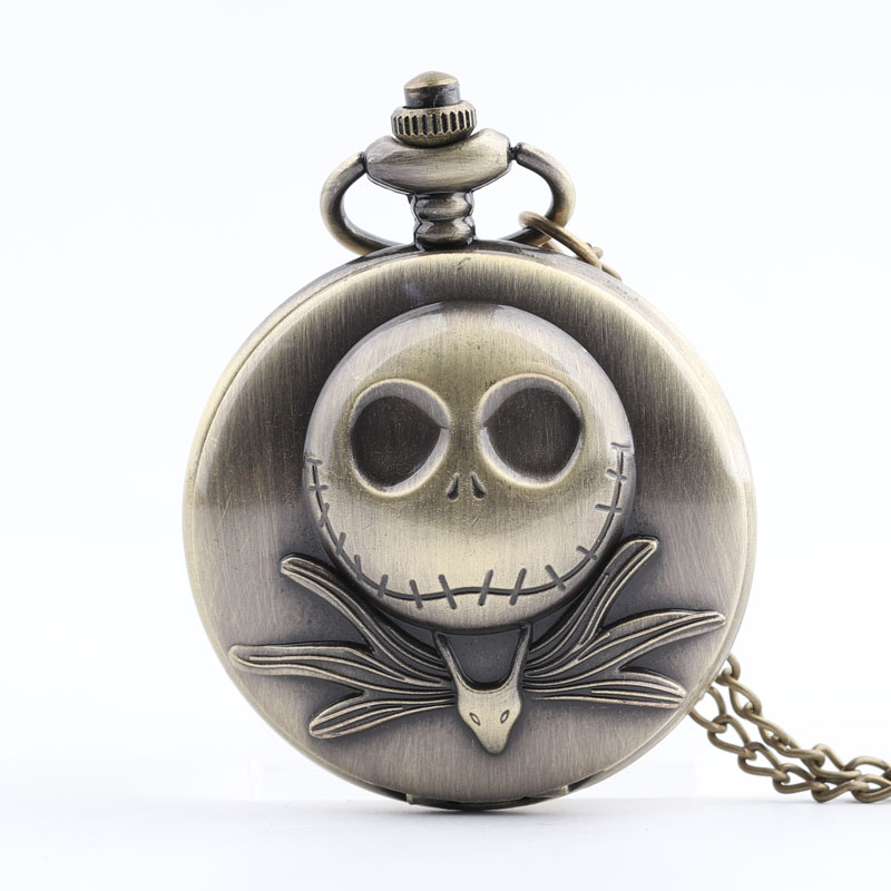 Pocket & Fob Watches Bronze Frog Necklace Pocket Watch  Pendant Clock Gifts for Children Quartz with Necklace Fob Watch