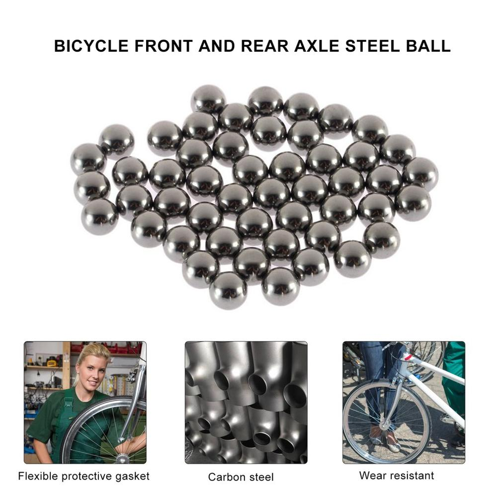 Bicycle Bike Steel Ball Bearing 6mm 7mm 8mm 9mm 10mm Replacement Part Steel Ball