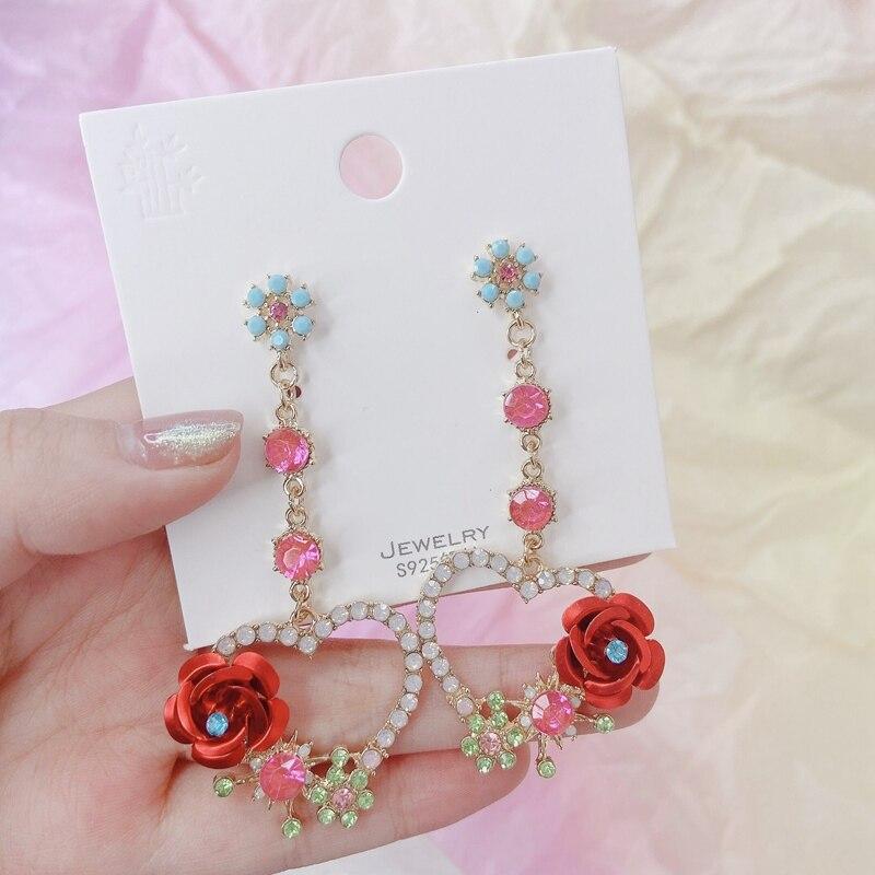 Купить женские винтажные серьги капельки mengjiqiao новые роскошные