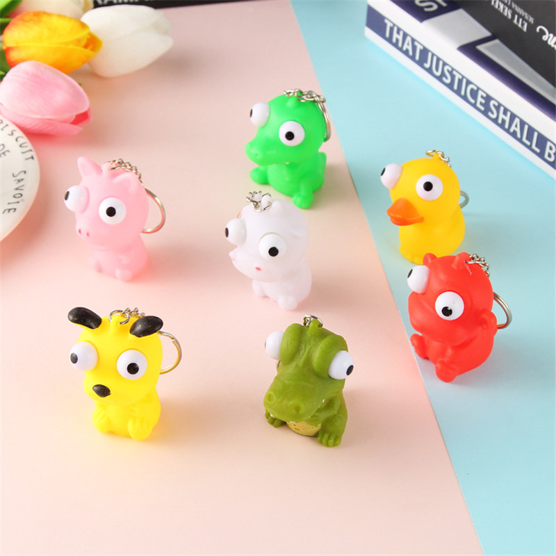 Jumbo Toy Squeezing Squishy Toys Anti Stress Relief Fidget Toys For Autism Slow Rising Abreact Antistress Adults Kids Key Rings
