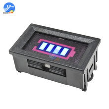 BMS 3S 18650 Lithium Batterie Kapazität Anzeige Display mit Shell Box Schützen Abdeckung 12,6 V Power Test Batterie Ladegerät zubehör